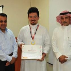 وليد طالب موهوب تفوق على 116 ألف مشارك وحقق 4 جوائز علمية