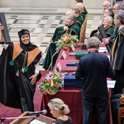 زهور عسيري تتخرج من جامعة دبرتسن بتخصص الطب