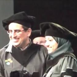 أول مبتعث سعودي يحصد جائزة الطموح من جامعة أمريكية