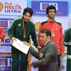 أول ذهبية سعودية في الدوري العالمي للكاراتيه