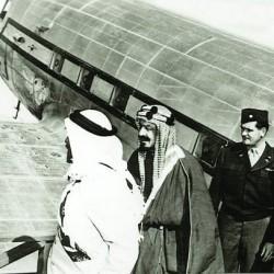 أول طائرة جاءت إلى السعودية .. داكوتا