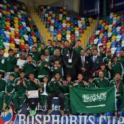 كاراتيه الفئات السنية بالأخضر يحقق 22 ميدالية متنوعة في بطولة البسفور الدولية