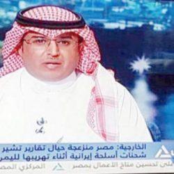 أول إعلامي سعودي يقدم الأخبار في التلفزيون المصري
