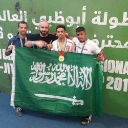 """أول سعودي يحقق بطولة """"الجوجيتسو"""" العالمية"""