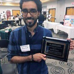 مبتعث ينال جائزة خدمة المجتمع الأمريكية