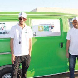 سعودي يبتكر مشروع سيارة متنقلة لصيانة الجوالات