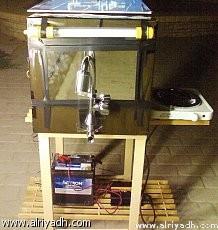 سخان مياه سعودي يعمل بالرياح والطاقة الشمسية