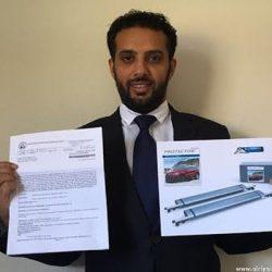 اختراع سعودي يحمي المركبات من أشعة الشمس