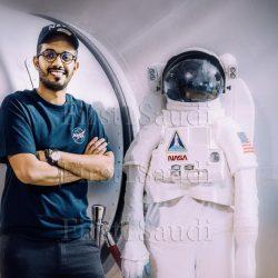 أول مهندس سعودي في وكالة ناسا الدولية للفضاء