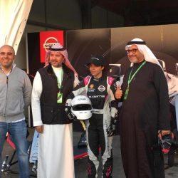البطلة السعودية ريم العبود  أول وأصغر شابة سعودية  تقود الفورميلا إي في حلبة عالمية