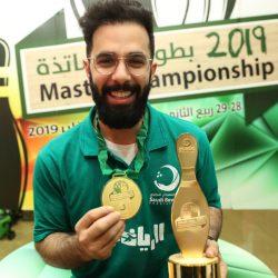 اللاعب حسن عبدالله ال الشيخ يحقق بطولة الاساتذة للبولينج لعامين  على التوالي
