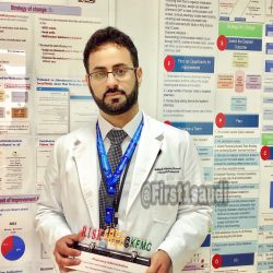 طبيب مبتعث يفوز بجائزة أفضل مدرب من كلية الجراحين الأمريكية