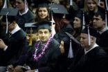 مبتعث وزوجته يتخرجان معا من أمريكا بمرتبة الشرف