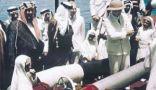 أول شحنة بترول تم تصديرها من السعودية إلى العالم