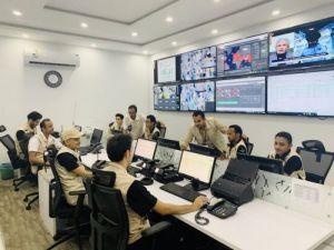 أول مركز اقليمي للتحكم والقيادة