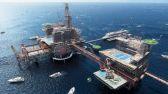 أول مدينة ترفيهية بالعالم على متن منصة نفط بحرية بالسعودية