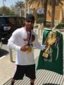 سعودي يحقق ذهبية بطولة مستر أولمبيا لكمال الأجسام