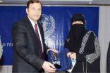 الأمم المتحدة تمنح وفاء أبو هادي الدكتوراه الفخرية