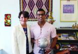 مبتعث ينال لقب سفير السلام للعام 2016