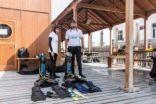 سعوديان يدخلان «جينيس» لغوصهما في القطب الشمالي