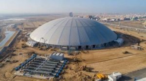أكبر قبة خرسانية متصلة بدون أعمدة في العالم