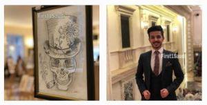 طالب طب سعودي بروسيا يفوز بمسابقة الرسم التشريحي