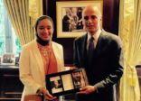 أول سعودية في مجلس الأمم المتحدة للشباب